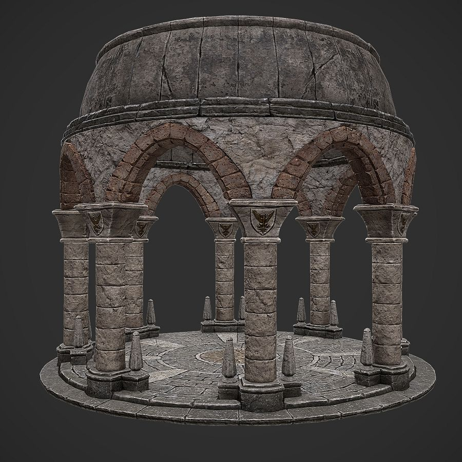 Arena 2 royalty-free 3d model - Preview no. 5