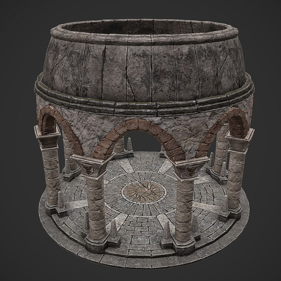 Arena 2 royalty-free 3d model - Preview no. 2
