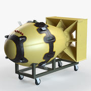 Fat Man Atomic Bomb 3d model