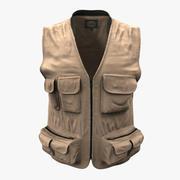 Fishing Vest 3d model