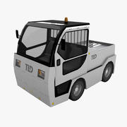 Baggage Tractor TLD Jet-16 3d model