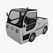 Ciągnik bagażowy TLD Jet-16 3d model