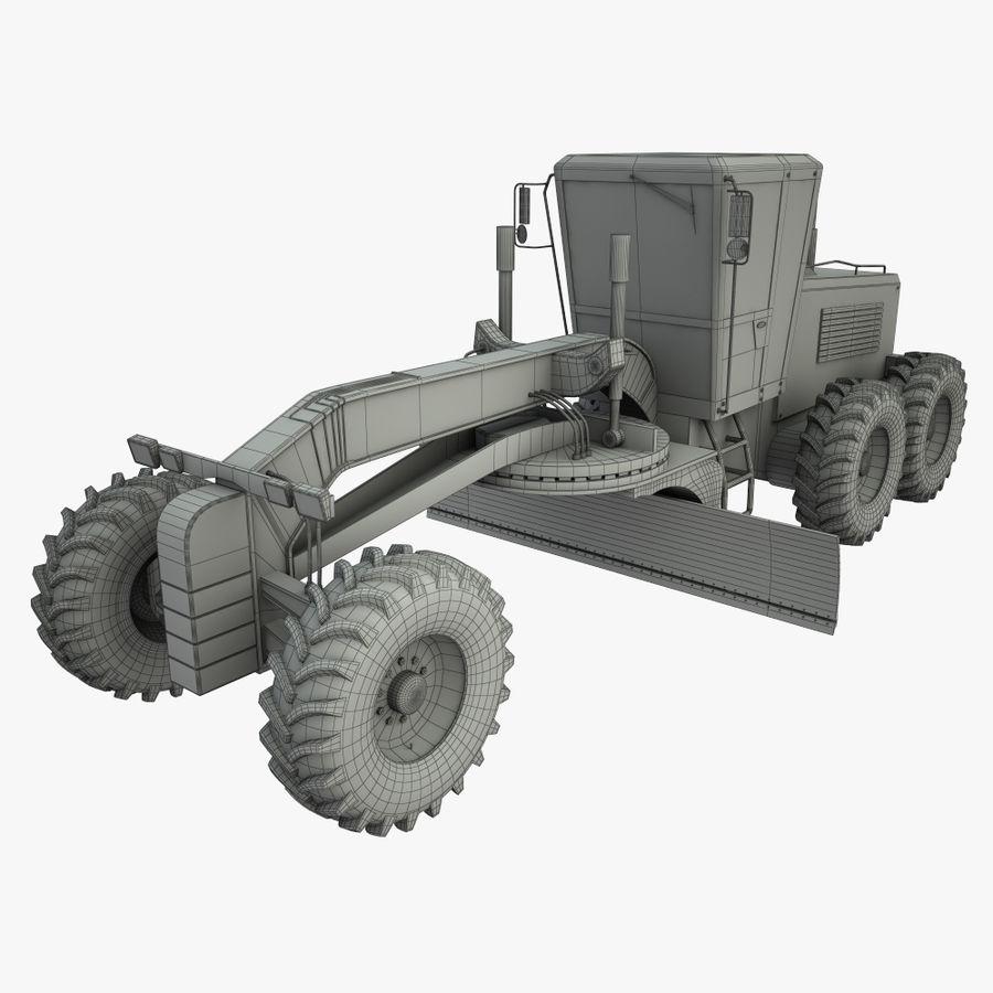 Motor Grader royalty-free 3d model - Preview no. 12