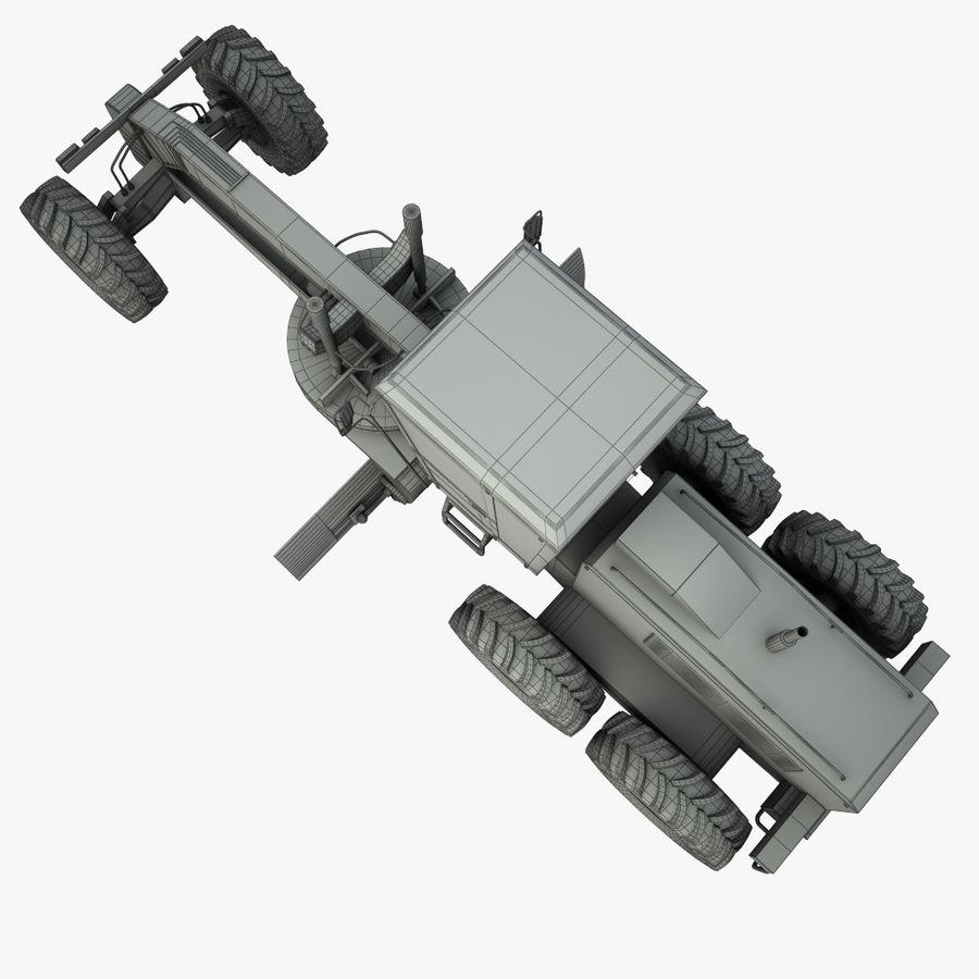 Motor Grader royalty-free 3d model - Preview no. 14