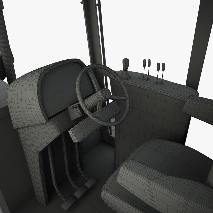 Motor Grader royalty-free 3d model - Preview no. 17