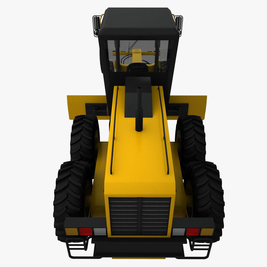 Motor Grader royalty-free 3d model - Preview no. 10