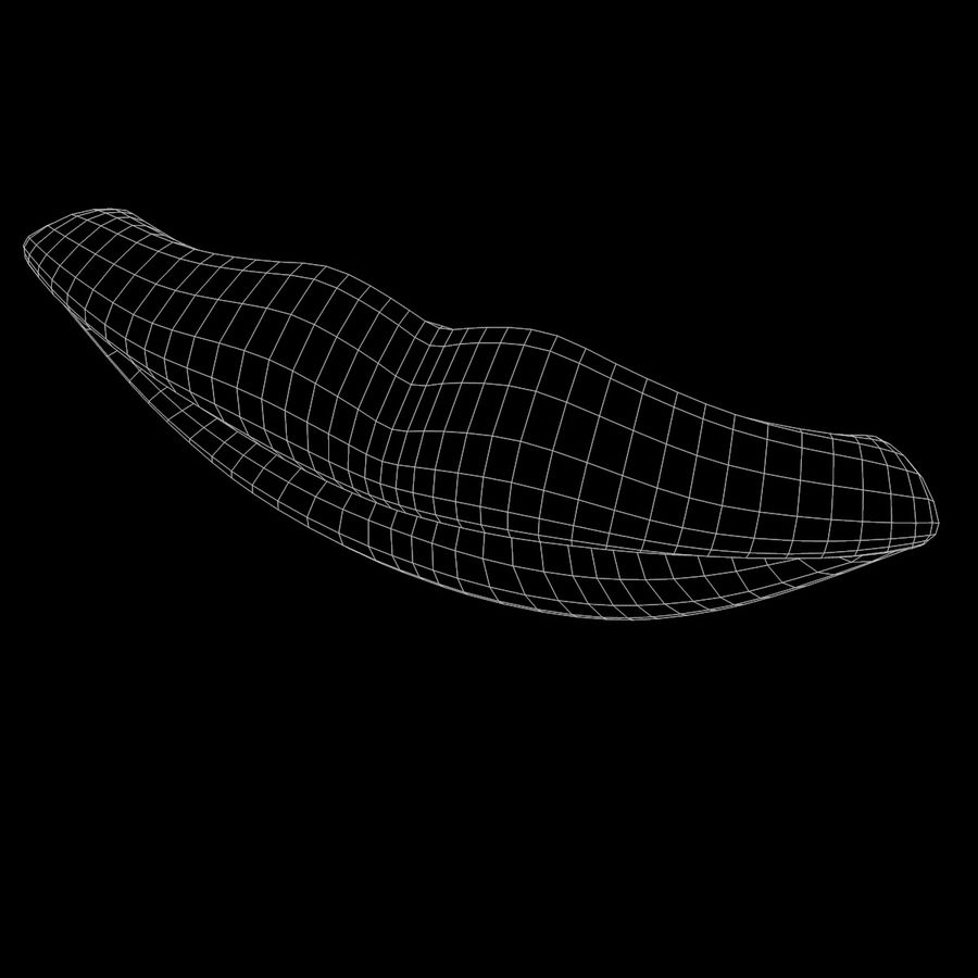 Lábios boca royalty-free 3d model - Preview no. 9