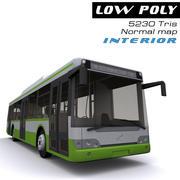 Autobús de la ciudad modelo 3d