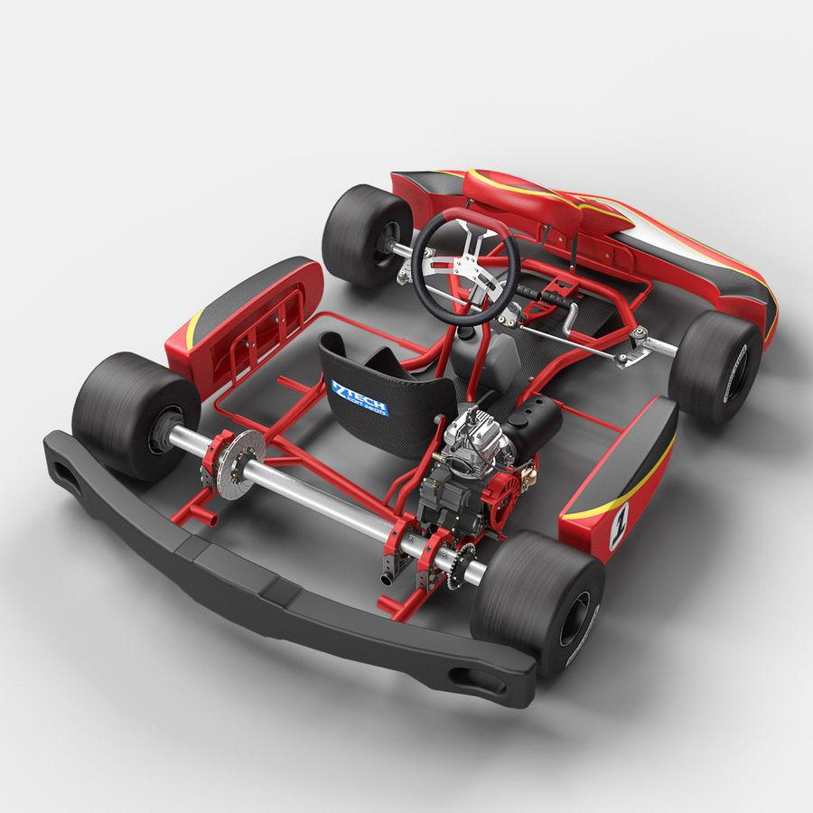 Go Kart 3d Model 49 Max C4d Obj Fbx Free3d