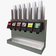 Distributore di bevande 3d model