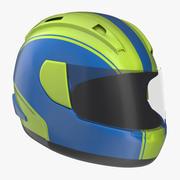 Motorcycle Helmet Generic 2 3d model