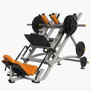 Leg Press Machine 3d model