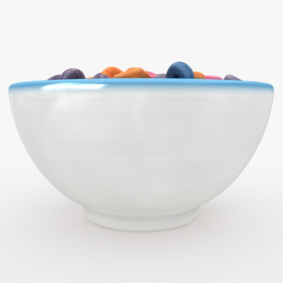 Cheerios Fruit royalty-free 3d model - Preview no. 6