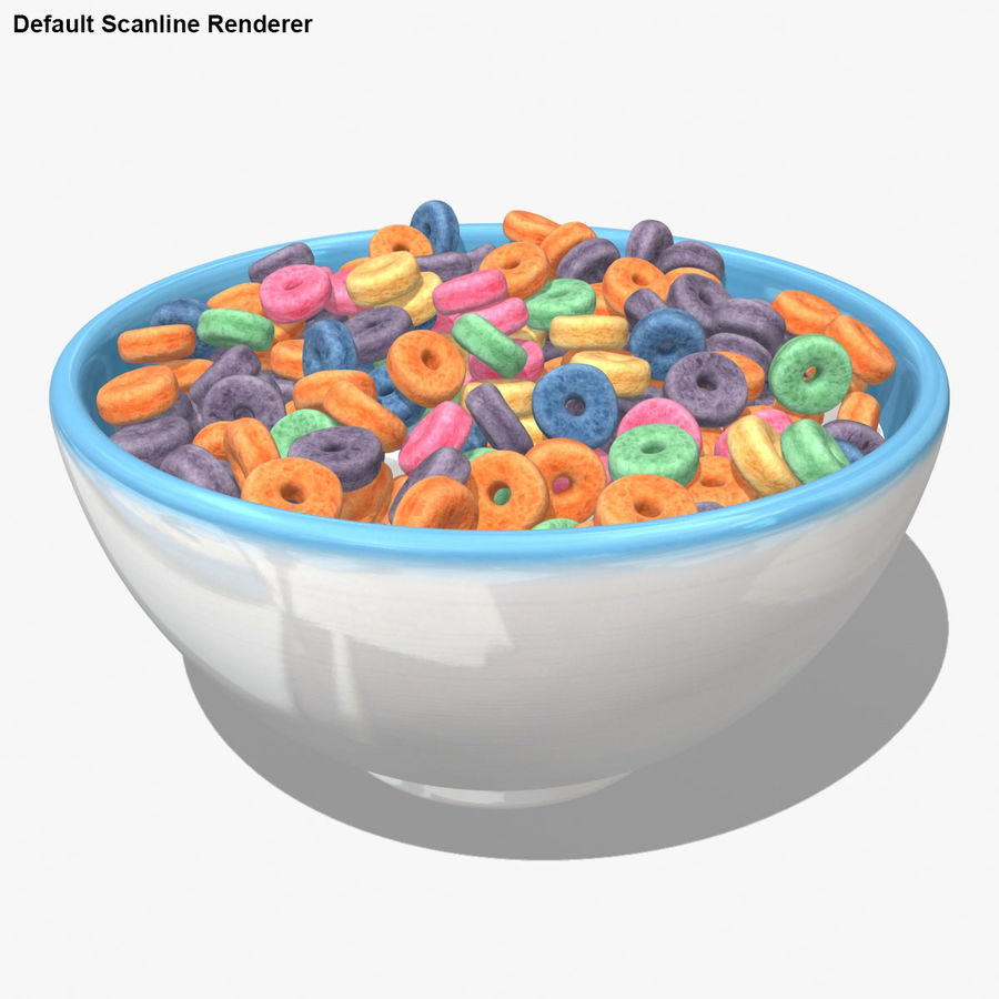 Cheerios Fruit royalty-free 3d model - Preview no. 17