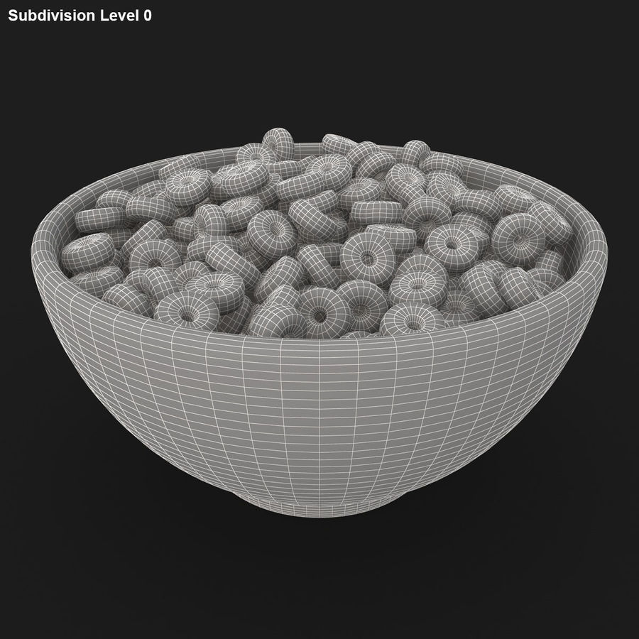 Cheerios Fruit royalty-free 3d model - Preview no. 14