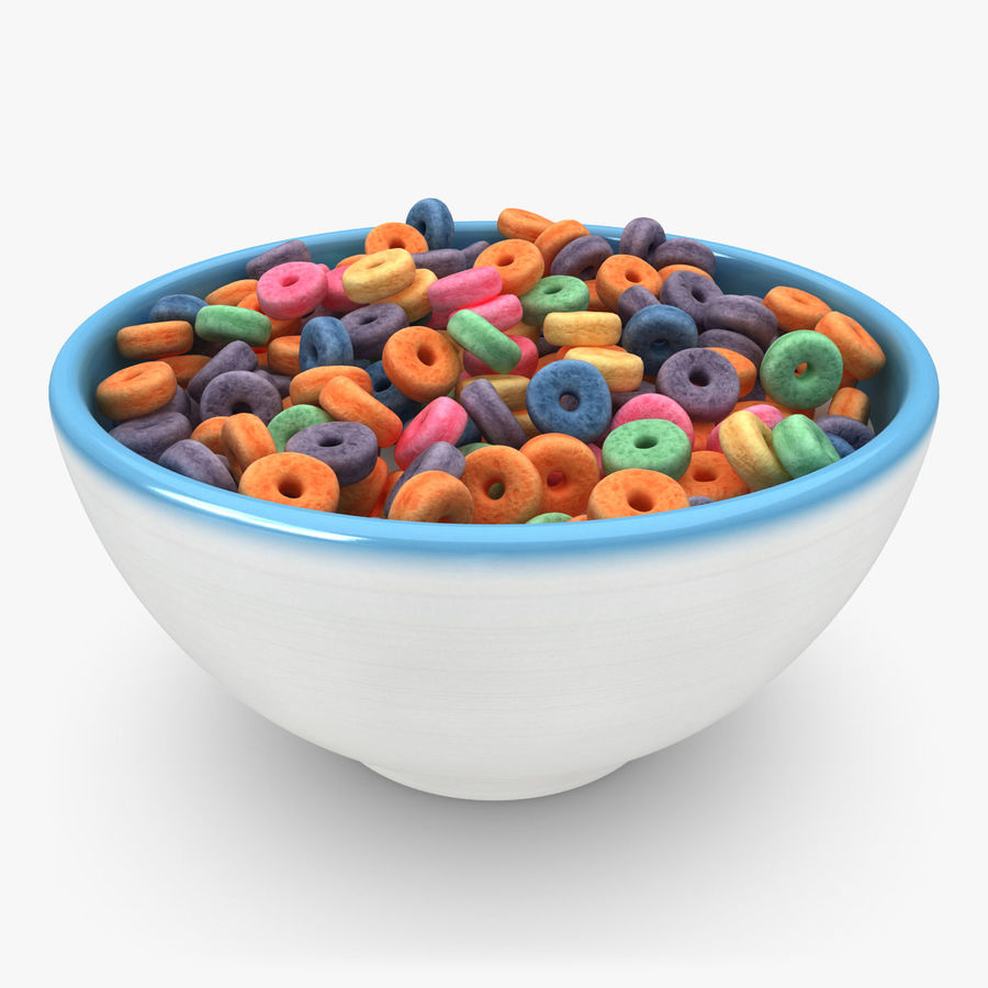 Cheerios Fruit royalty-free 3d model - Preview no. 1