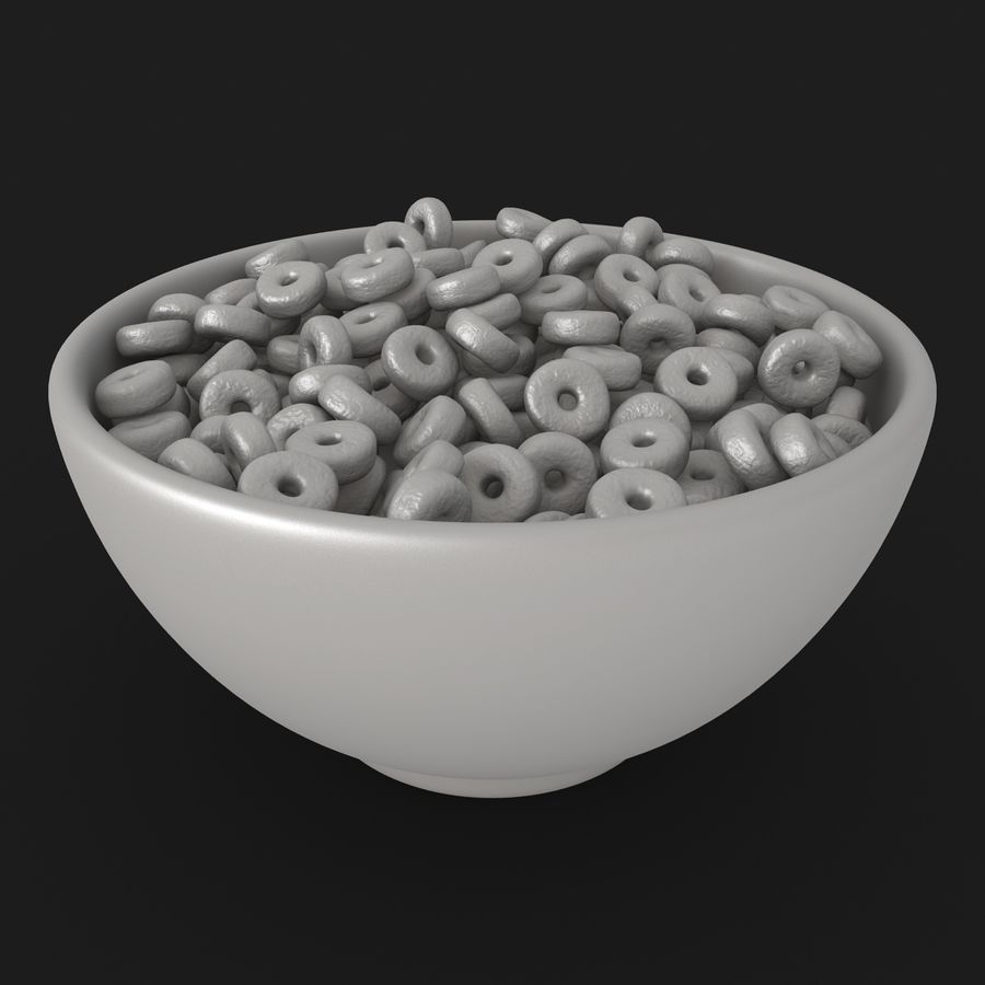 Cheerios Fruit royalty-free 3d model - Preview no. 16