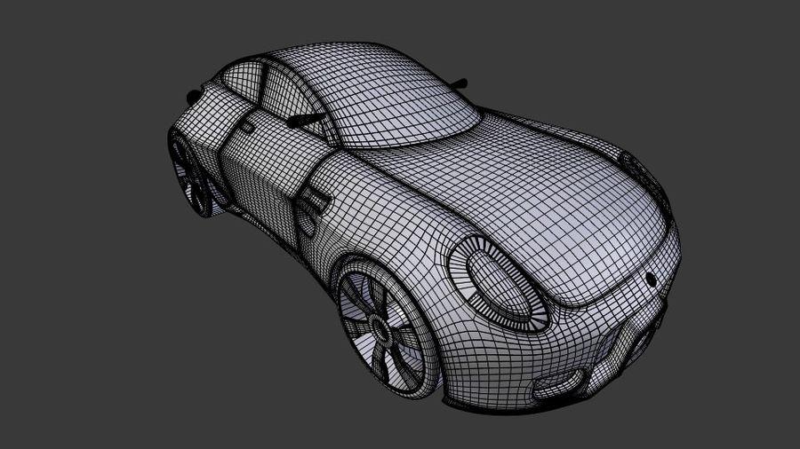 Концептуальный стиль купе 1 royalty-free 3d model - Preview no. 8