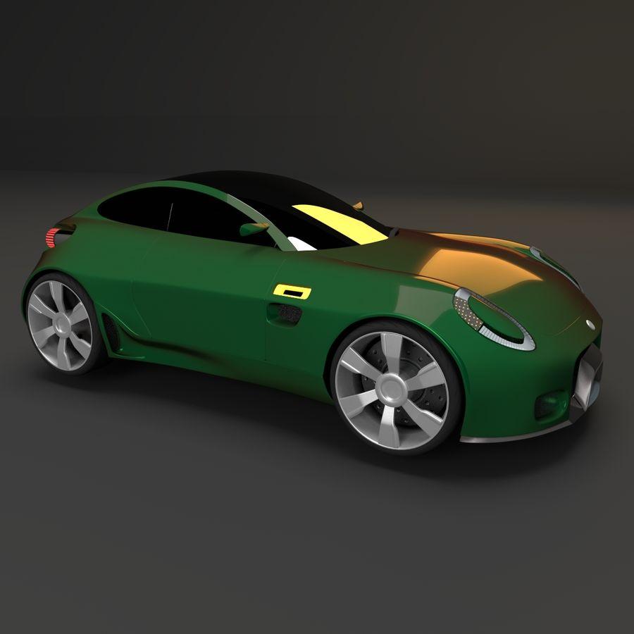 Концептуальный стиль купе 1 royalty-free 3d model - Preview no. 2