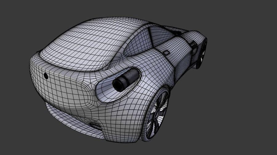 Концептуальный стиль купе 1 royalty-free 3d model - Preview no. 9