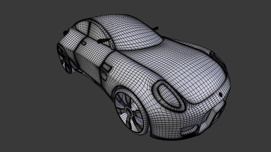 Концептуальный стиль купе 1 royalty-free 3d model - Preview no. 7
