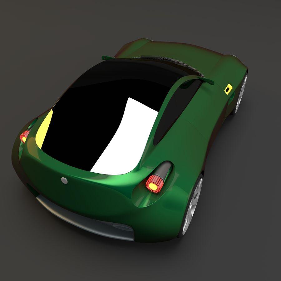 Концептуальный стиль купе 1 royalty-free 3d model - Preview no. 1