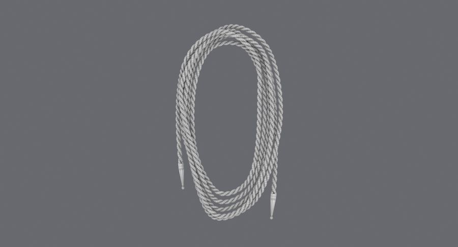 Golden Lasso of Truth (Coiled) royalty-free 3d model - Preview no. 11