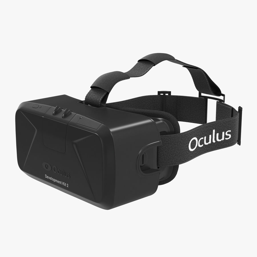 Virtual Reality Headset Oculus DK2 3D Model $39 -  unknown  ma  max