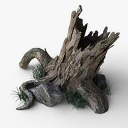 Pień drzewa 3d model