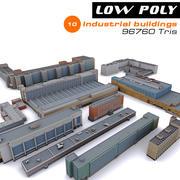 10 edificios industriales modelo 3d
