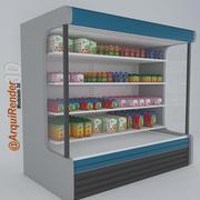 Frigorifero per latte e succhi 3d model