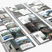 15 Open book_003 3d model
