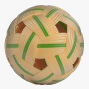 Rattan Ball 3d model