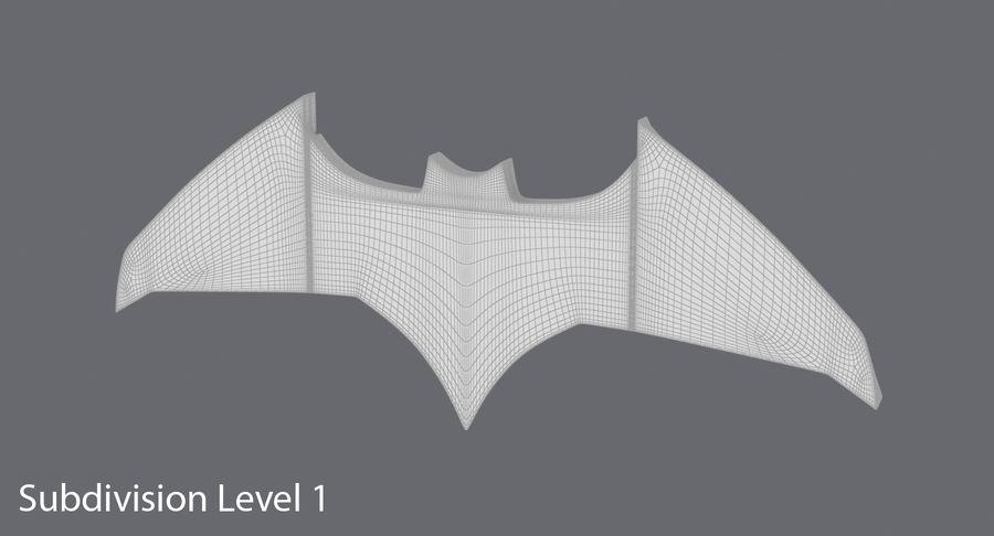 Batarang royalty-free 3d model - Preview no. 13