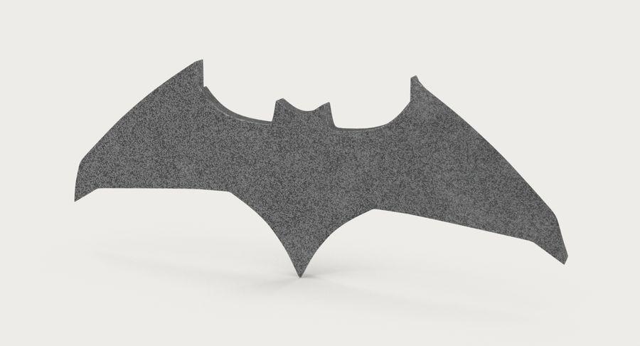 Batarang royalty-free 3d model - Preview no. 6