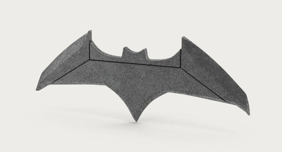Batarang royalty-free 3d model - Preview no. 3