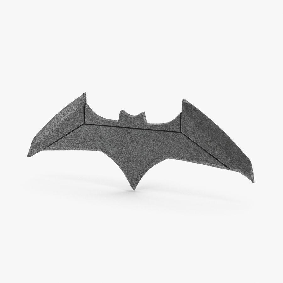 Batarang royalty-free 3d model - Preview no. 1