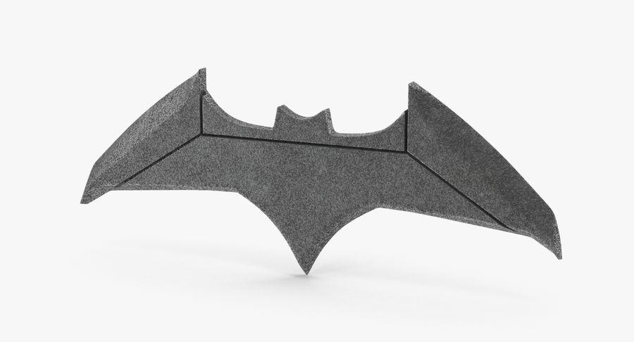 Batarang royalty-free 3d model - Preview no. 2