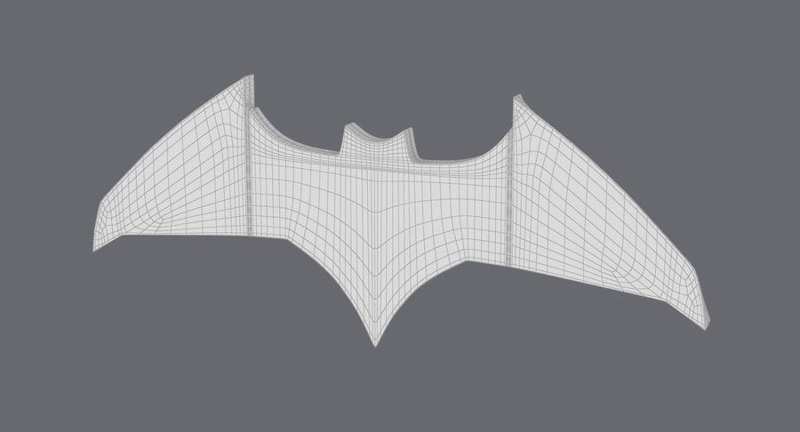 Batarang royalty-free 3d model - Preview no. 15