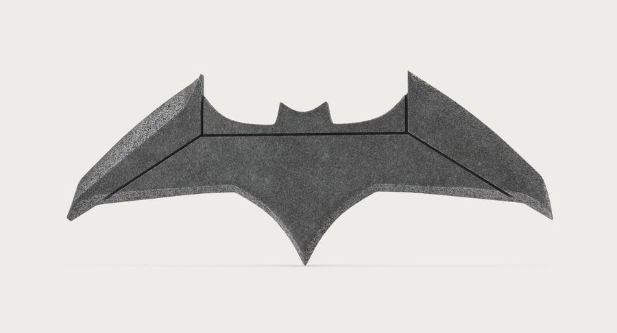 Batarang royalty-free 3d model - Preview no. 4