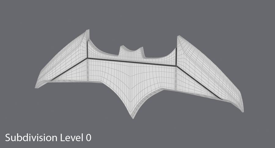 Batarang royalty-free 3d model - Preview no. 10