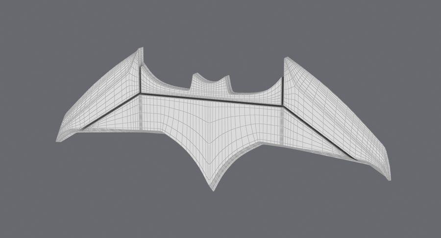 Batarang royalty-free 3d model - Preview no. 14