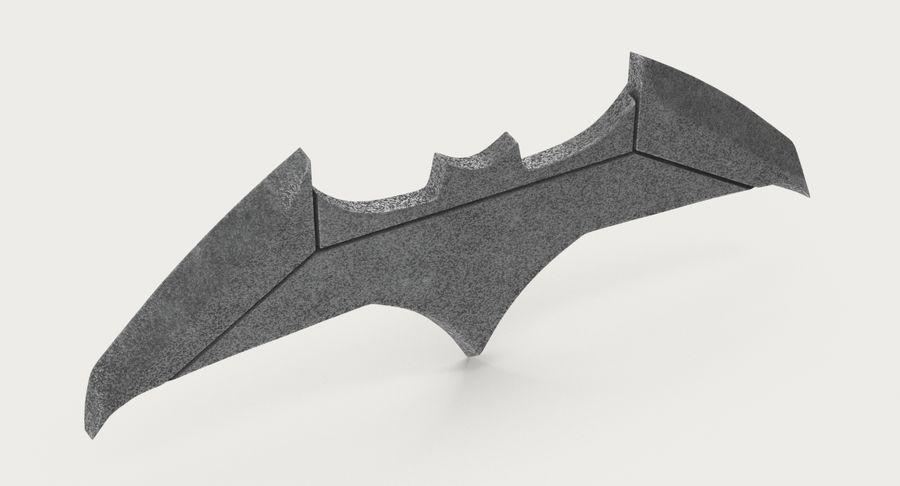 Batarang royalty-free 3d model - Preview no. 5