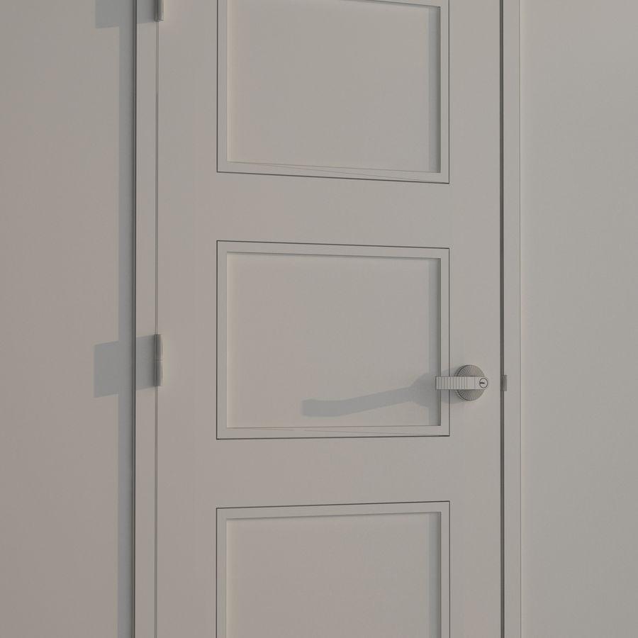 Door-008 royalty-free 3d model - Preview no. 3