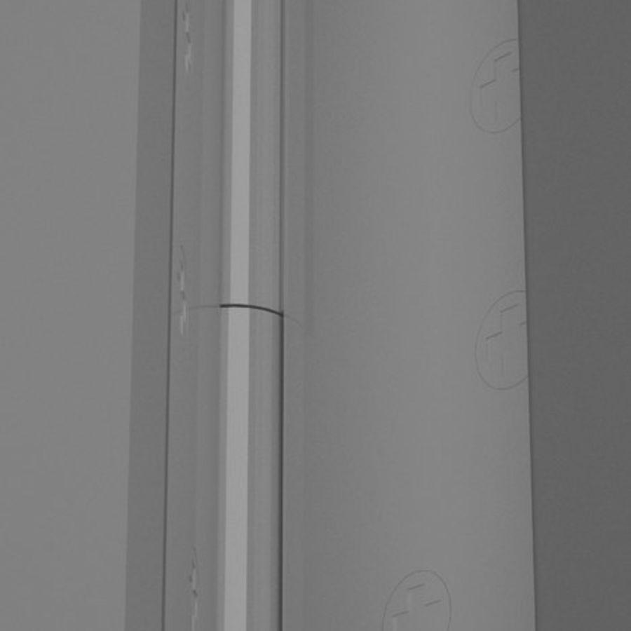 Door-008 royalty-free 3d model - Preview no. 4