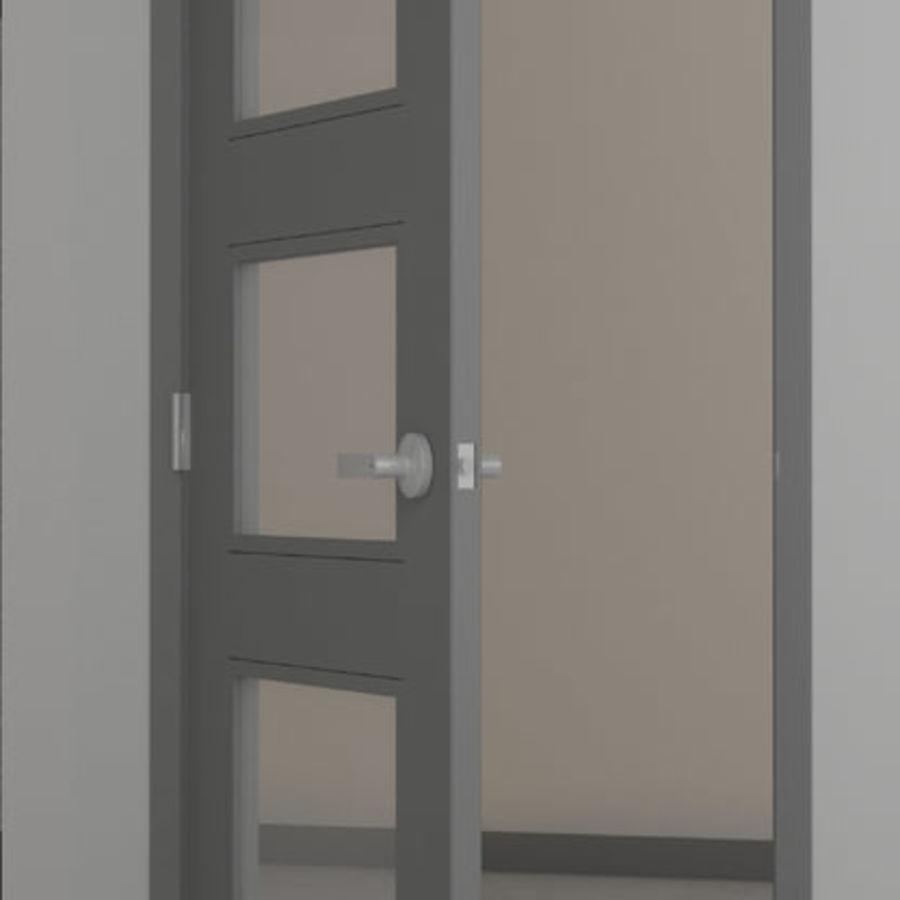 Door-008 royalty-free 3d model - Preview no. 2