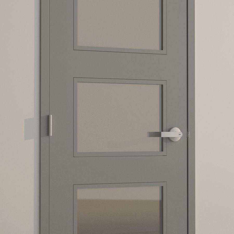 Door-008 royalty-free 3d model - Preview no. 1