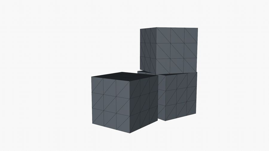 Cardboard Boxes royalty-free 3d model - Preview no. 14
