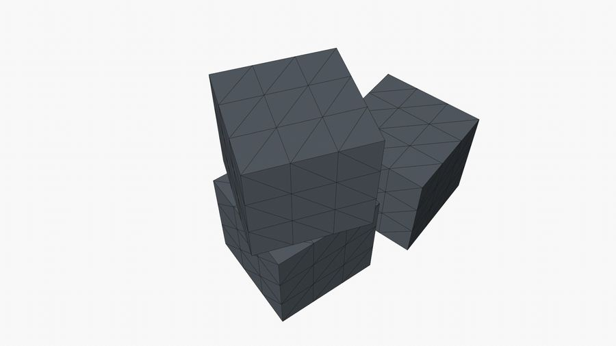 Cardboard Boxes royalty-free 3d model - Preview no. 13