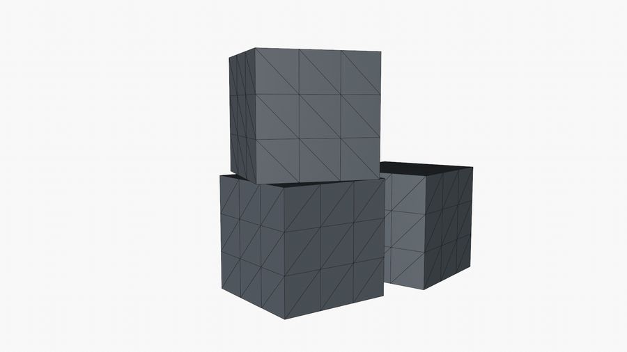 Cardboard Boxes royalty-free 3d model - Preview no. 12
